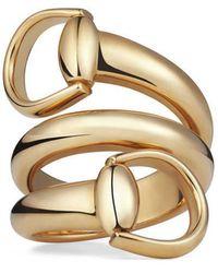 Gucci | Horsebit Ring | Lyst