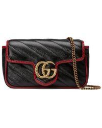 Gucci - GG Marmont Super Mini Bag - Lyst