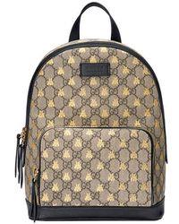 Gucci | Gg Supreme Bees Backpack | Lyst