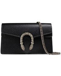 Gucci Dionysus Leather Super Mini Bag