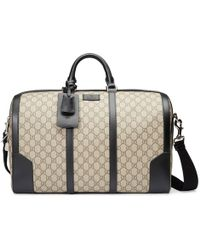 befcde613438 Gucci Blue Gg Nylon Duffel Bag From Viaggio Collection in Blue for ...