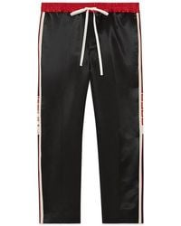 Gucci   Acetate Jogging Pant With Stripe   Lyst