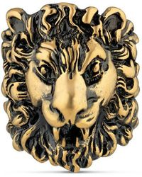 Gucci - Lion Head Ring - Lyst
