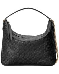 Gucci - Signature Large Hobo Bag - Lyst