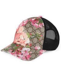 Gucci - Gg Blooms Baseball Hat - Lyst