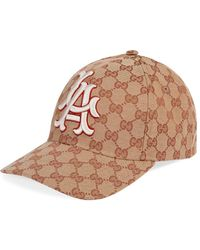 Gucci - Baseball Hat With La Angelstm Patch - Lyst