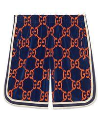 Gucci - Gg Chenille Shorts - Lyst