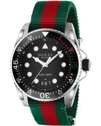 Gucci - -Dive-Uhr, 45 mm - Lyst
