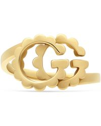 Gucci - GG Running Yellow Gold Ring - Lyst