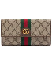 Gucci - GG Continental Wallet With Three Little Pigs - Lyst