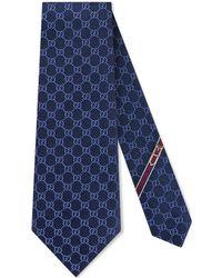 Gucci - Corbata con diseño GG - Lyst