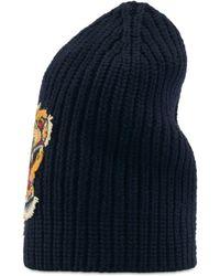 Gucci - Cappello in lana con tigre - Lyst 559c8349c7f4