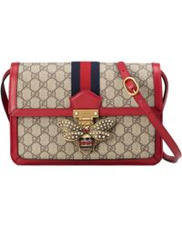 Gucci - Queen Margaret Gg Supreme Medium Shoulder Bag - Lyst