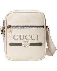 Gucci - Umhängetasche mit Print - Lyst