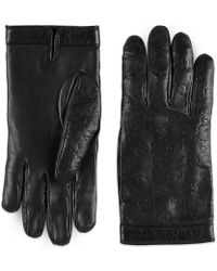 Gucci - Signature Gloves - Lyst