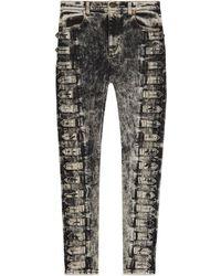 Gucci - Pantalone skinny in denim - Lyst