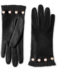 Gucci - Studded Leather Glove - Lyst