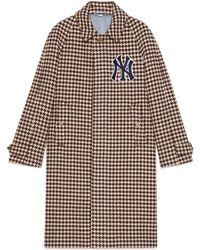 Gucci - Herren Mantel mit NY YankeesTM-Patches - Lyst
