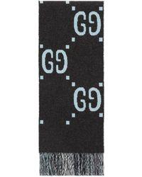 Gucci - GG Wool Scarf - Lyst