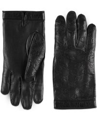 Gucci - Signature Handschuhe - Lyst