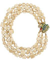 Gucci - Plexiglas Necklace With Tiger Head Closure - Lyst