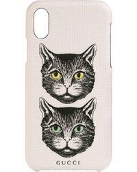 Gucci - Iphone 8 Plus Case With Mystic Cat - Lyst