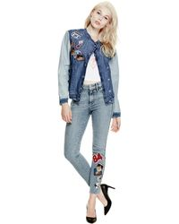 Guess - Originals 1981 Patch Skinny Jeans - Lyst