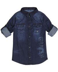 Guess - Long-sleeve Denim Shirt (7-18) - Lyst