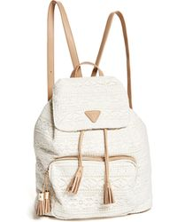 Guess - Shelby Tassel Backpack - Lyst