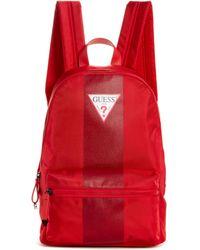Guess - Varsity Stripe Nylon Backpack - Lyst