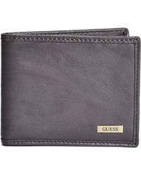 Guess - Bonsallo Smooth Faux-leather Wallet - Lyst