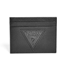 Guess - Pomona Logo Card Case - Lyst