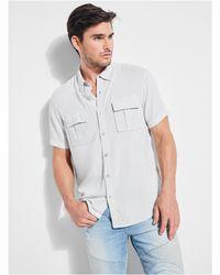 Guess - Vaughan Military Shirt - Lyst