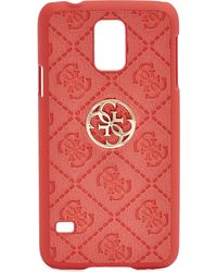 Guess - Red La Vida Logo Galaxy S5 Case - Lyst