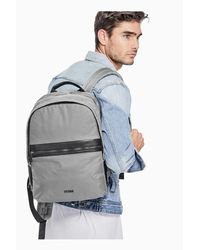 Guess - Shane Textured Backpack - Lyst