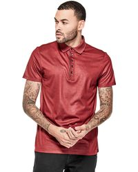 Guess - Mason Short-sleeve Shine Polo - Lyst