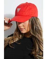 Guess - Logo Baseball Hat - Lyst