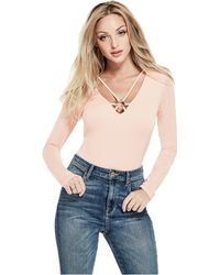 Guess - Halo O-ring Bodysuit - Lyst