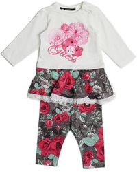 Guess | Floral Tunic And Leggings Set (0-24m) | Lyst