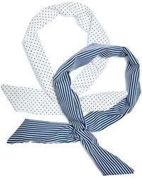 Guess - Printed Bow Headband Set - Lyst