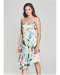 Guess - Havana Floral Slip Dress - Lyst