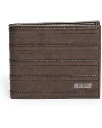 Guess - Pintuck Pass Case Wallet - Lyst
