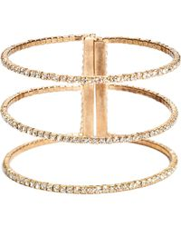 Guess | Payton Rhinestone Cuff Bracelet | Lyst