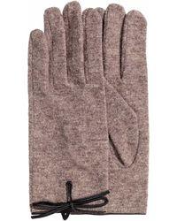 H&M - Wool-blend Gloves - Lyst