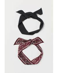 H&M - 2-pack Hairbands - Lyst