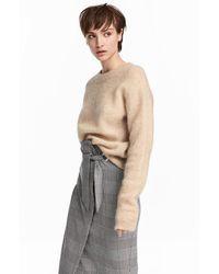 H&M - Mohair-blend Sweater - Lyst