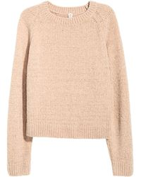 H&M - Chenille Sweater - Lyst