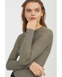 H&M - Merino Wool Jumper - Lyst