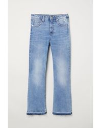 H&M - Kickflare High Ankle Jeans - Lyst