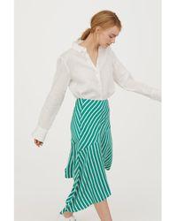 H&M - Asymmetric Skirt - Lyst